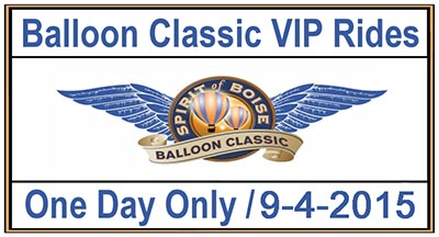 Spirit of Boise Balloon Classic Flight Button