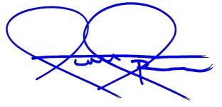 Scott Spencer signature